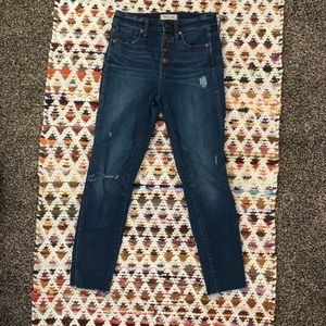 Madewell high waisted jeans